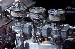 Motor de coche modificado para requisitos particulares  Foto de archivo