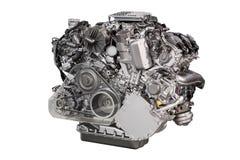 Motor de coche potente aislado imagenes de archivo