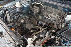 Motor de coche quebrado Imágenes de archivo libres de regalías