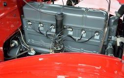 Motor de coche restaurado del vintage fotos de archivo