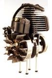 Motor de combustión interna Fotografía de archivo libre de regalías