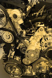 Motor de combustión interna Imágenes de archivo libres de regalías