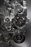 Motor de combustión interna Imagen de archivo libre de regalías