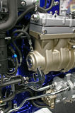 Motor de diesel imagens de stock royalty free