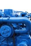 Motor de diesel marinho fotografia de stock royalty free