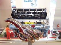 Motor de Ferrari Foto de Stock