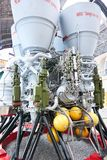 motor de foguete RD-170 do Líquido-propulsor imagem de stock