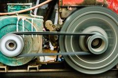 Motor de giro del motor de la correa imagen de archivo libre de regalías