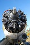 Motor de grandes aviões imagens de stock royalty free