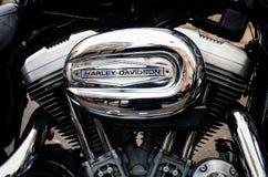 Motor de Harley Davidson Foto de archivo libre de regalías