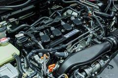 Motor de Honda O CÍVICO toda novo Imagem de Stock Royalty Free