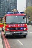 Motor de incêndio Imagem de Stock
