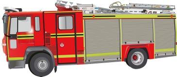 Motor de incêndio Foto de Stock Royalty Free