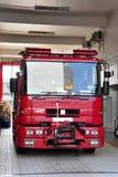 Motor de incêndio - bomba principal Fotos de Stock