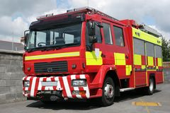 Motor de incêndio britânico Foto de Stock Royalty Free