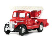Motor de incêndio do vintage Fotografia de Stock