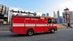 Motor de incêndio em NDP 2011 Fotografia de Stock