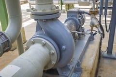 Motor de indução com bombas centrífugas Fotos de Stock Royalty Free