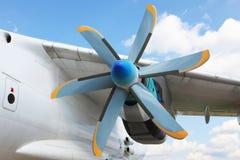 Motor de jato da turboélice Foto de Stock