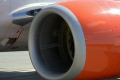 Motor de jato de Boeing 737 Fotos de Stock Royalty Free