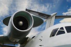 Motor de jato do avião Fotos de Stock