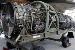 Motor de jato listrado Fotografia de Stock