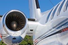 Motor de jet fotos de archivo libres de regalías