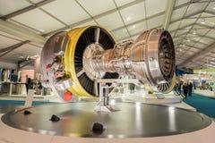 Motor de jet Imágenes de archivo libres de regalías