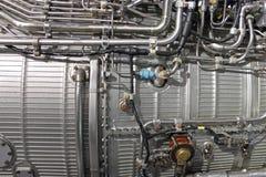 Motor de jet de Turbo imagen de archivo