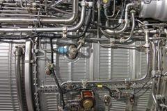 Motor de jet de Turbo fotografía de archivo