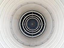 Motor de jet después de la hornilla foto de archivo libre de regalías
