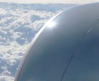 Motor de jet grande Fotos de archivo libres de regalías