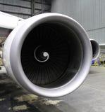 Motor de jet grande Imagenes de archivo
