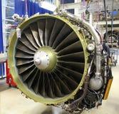 Motor de jet moderno Fotos de archivo libres de regalías