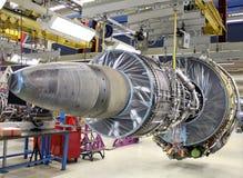 Motor de jet moderno Imagen de archivo