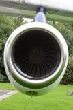 Motor de jet viejo Foto de archivo