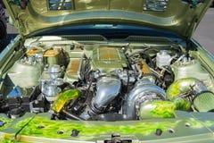 Motor de la aduana de Ford Mustang Fotos de archivo