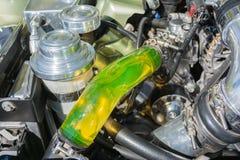 Motor de la aduana de Ford Mustang Foto de archivo