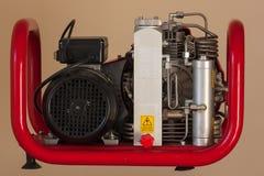 Motor de la corriente eléctrica Foto de archivo