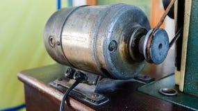 Motor de la máquina de coser Imagen de archivo