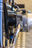 Motor de la moto Imagen de archivo