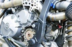 Motor de la moto de Enduro Fotografía de archivo