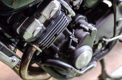 Motor de la motocicleta Fotografía de archivo libre de regalías