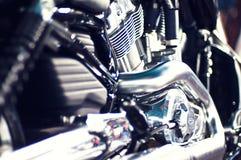 Motor de la motocicleta Fotografía de archivo