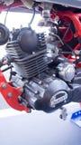 Motor de la motocicleta de Ducati Imágenes de archivo libres de regalías