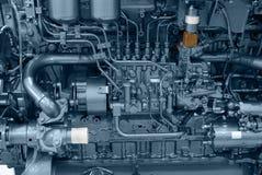 Motor de la nave Foto de archivo libre de regalías