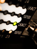 Motor de la red foto de archivo