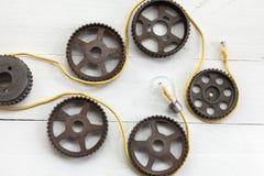 Motor de Li Fi Bulb Imágenes de archivo libres de regalías