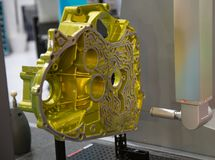 Motor de medição do CNC CMM Fotos de Stock
