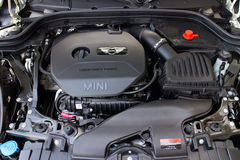 Motor 2014 de Mini One Fotos de archivo libres de regalías